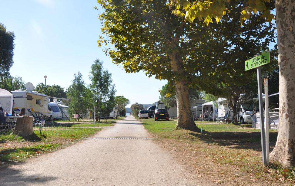 Campingplaatsen