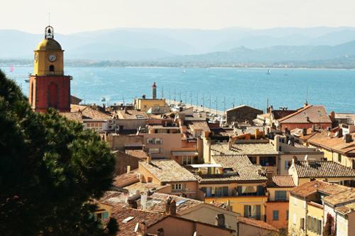 Der Golf von Saint-Tropez