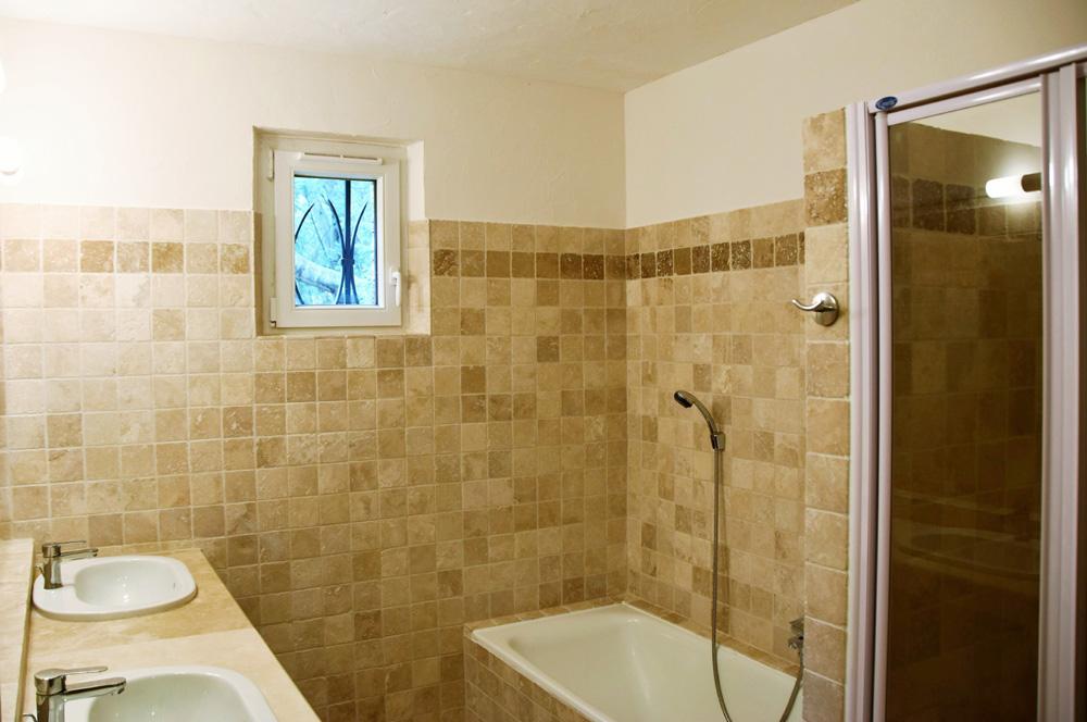 La Rabeaudière 1 : Badezimmer