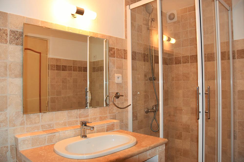 La Rabeaudière 3: badeværelse