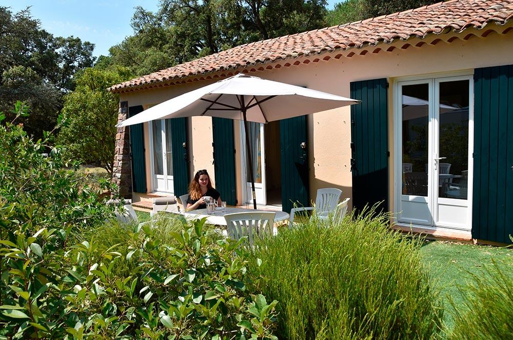 Villa du Parc: terrazza