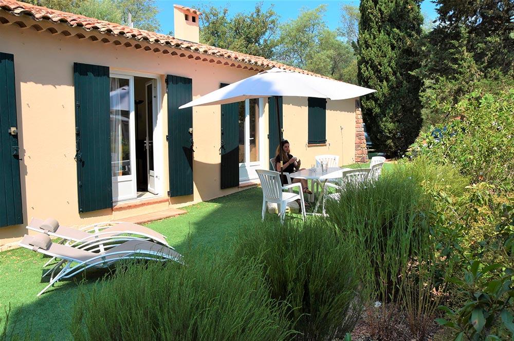 Villa du Parc : Terrasse
