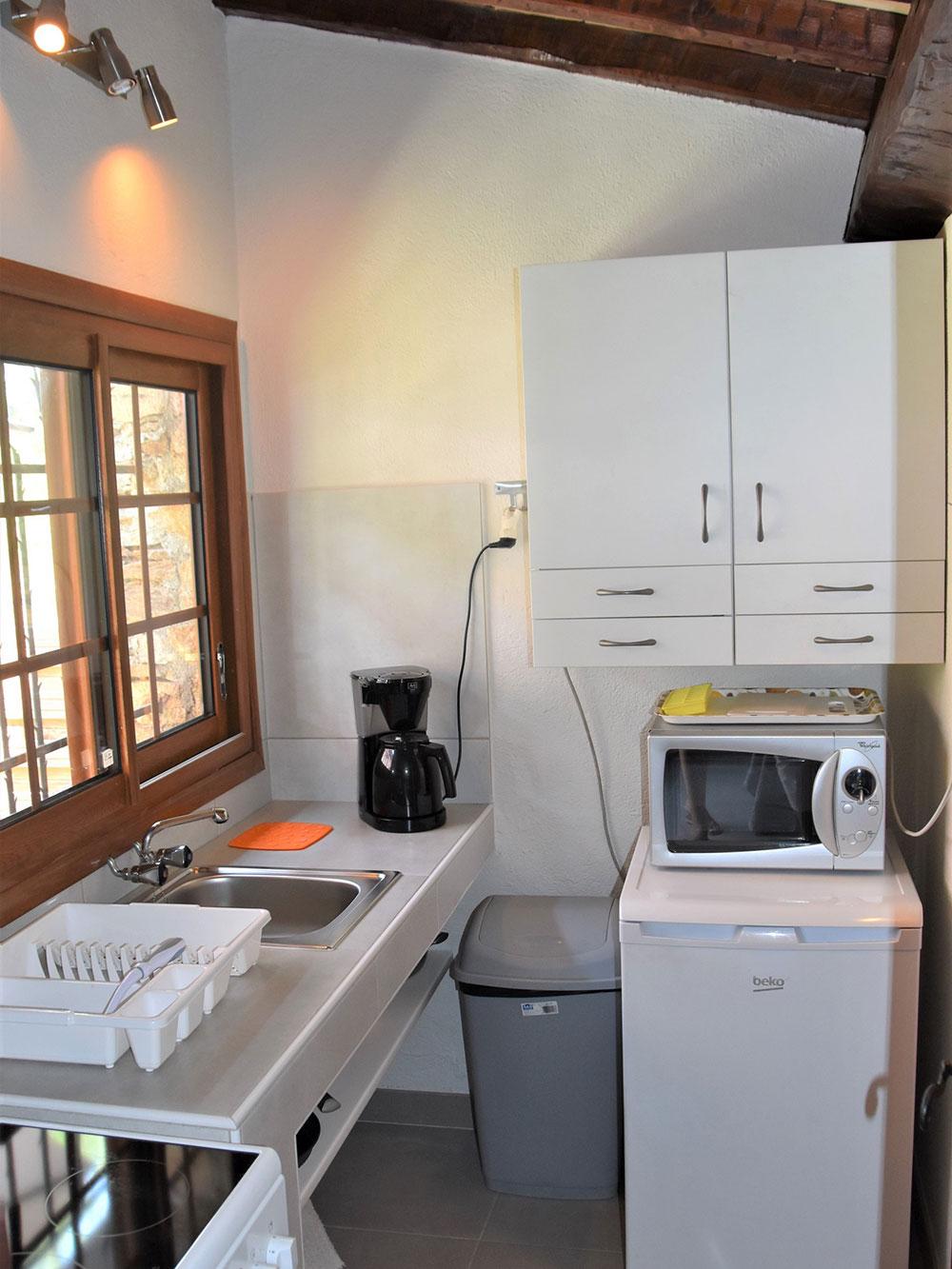 Studio d'Augias 1 : Küche