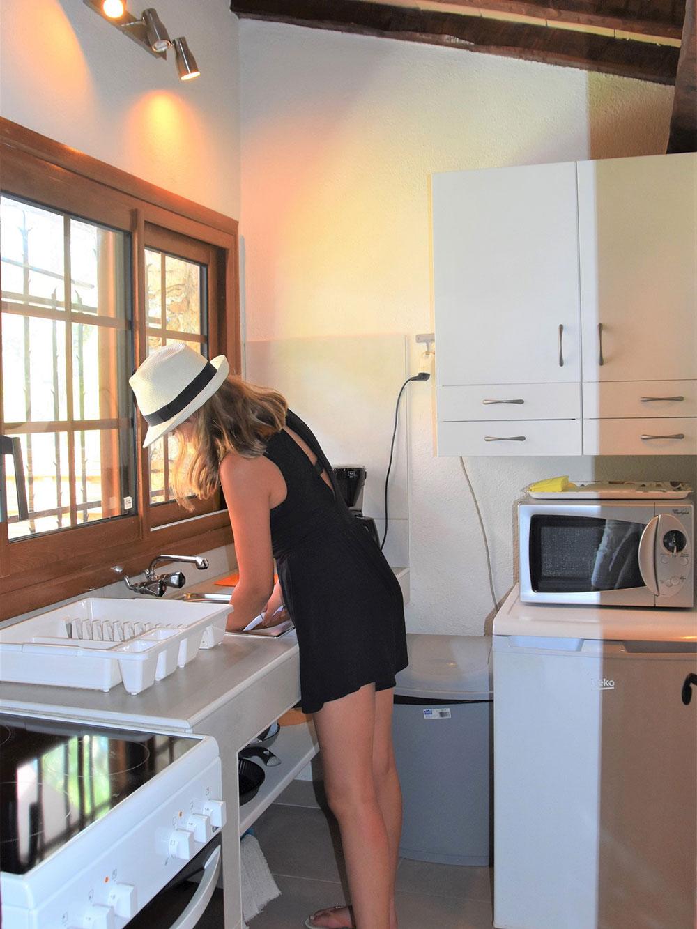 Studio d'Augias 2: kitchen