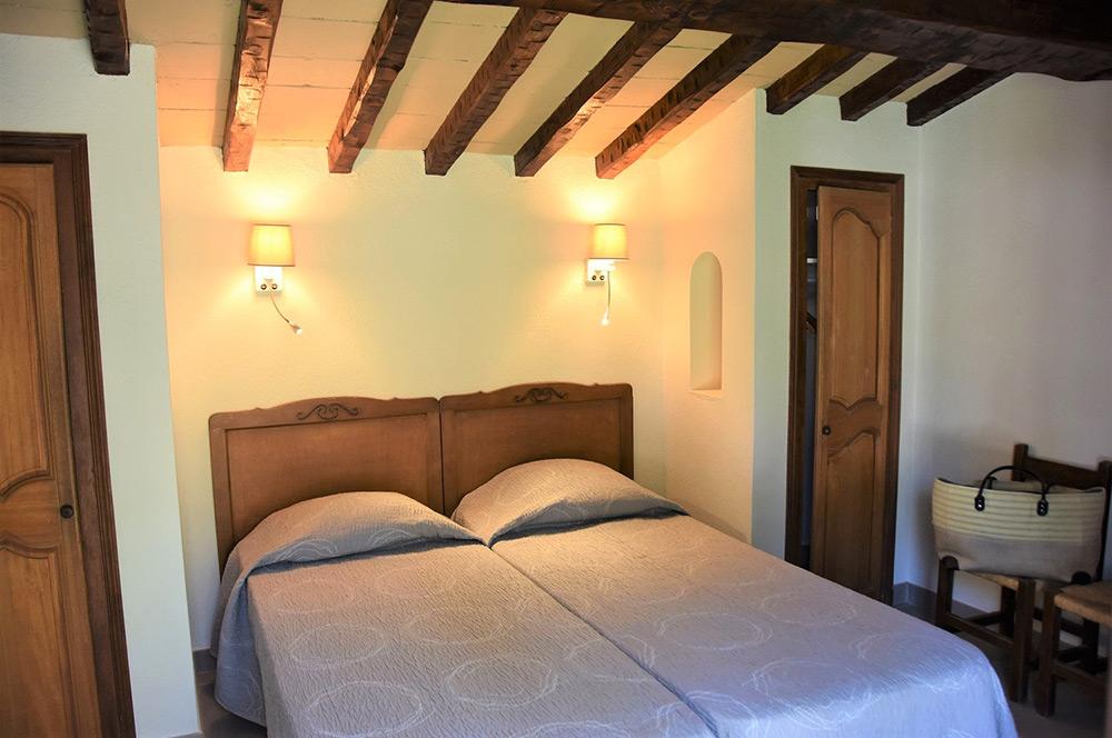 Studio d'Augias 2: 2 single beds