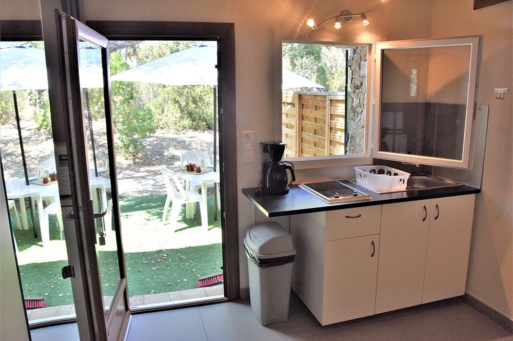 Studio d'Augias 3: kitchen corner