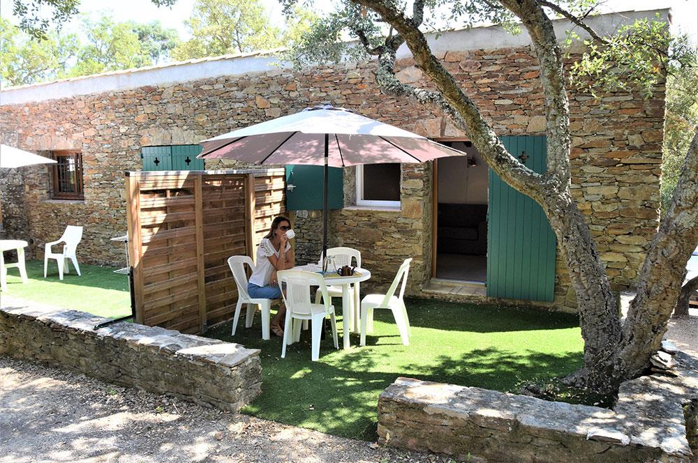 Studio d'Augias 3 : terrasse