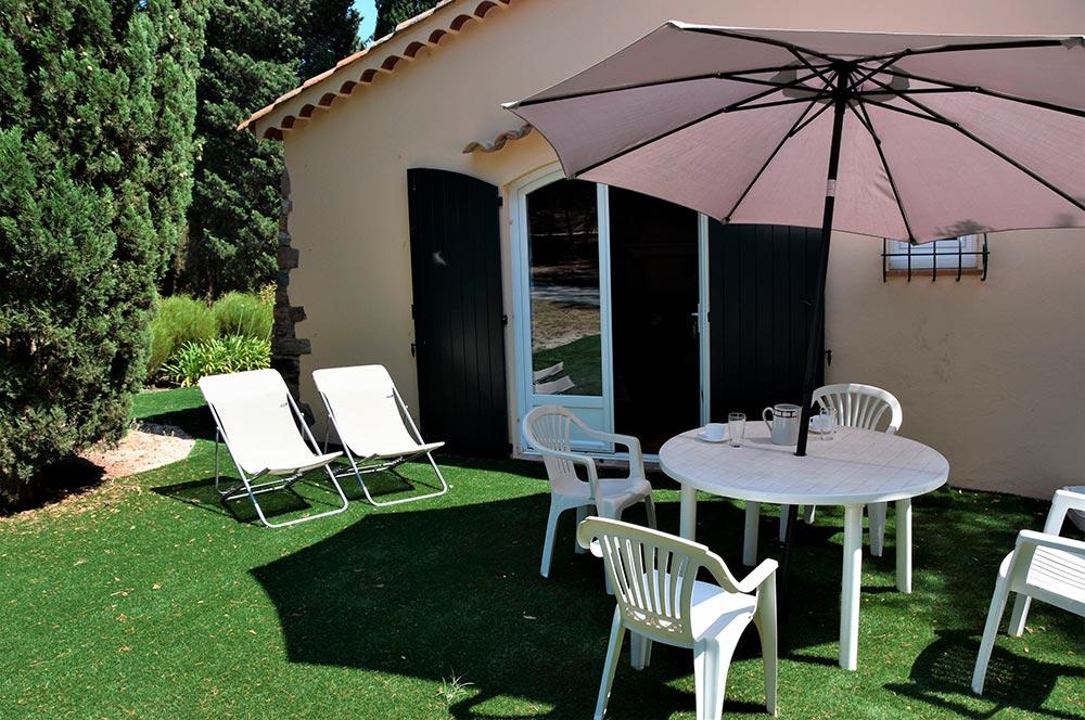 Studio du Parc : Terrasse