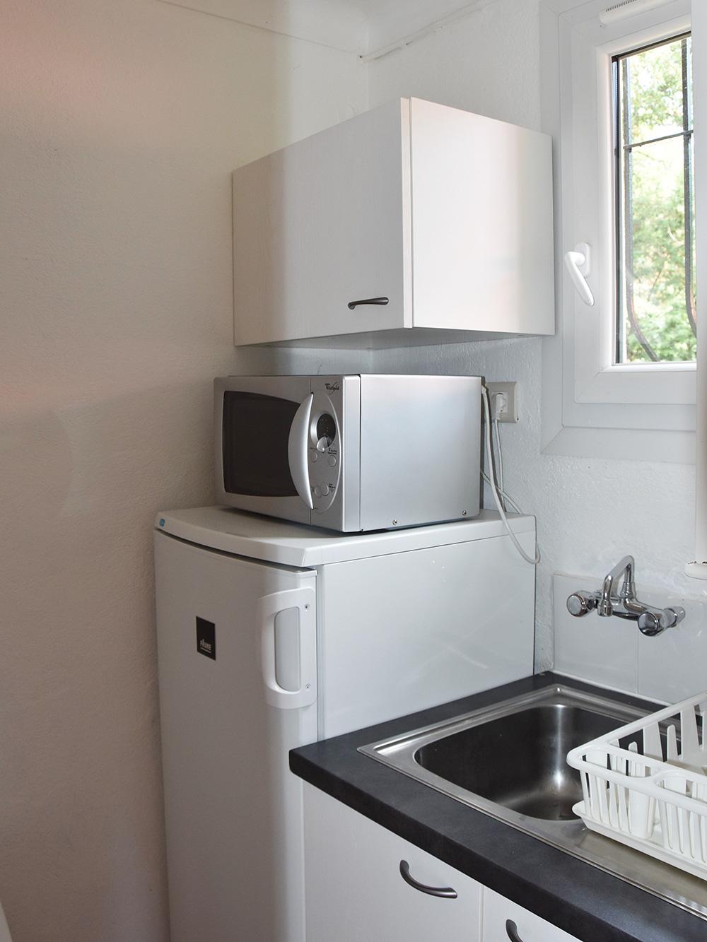 Studio du Parc: cucina