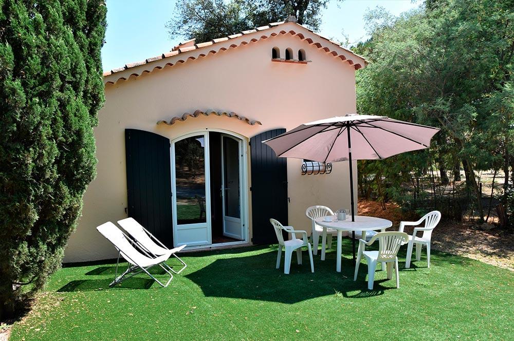 Studio du Parc: terrace