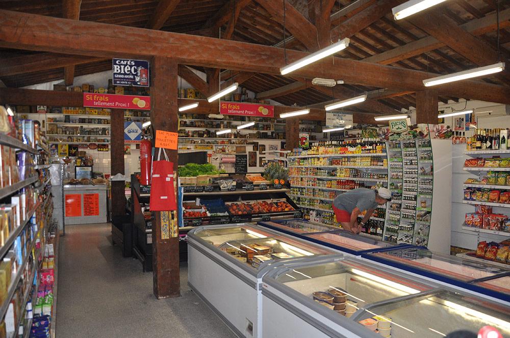 Groceries and frozen foods
